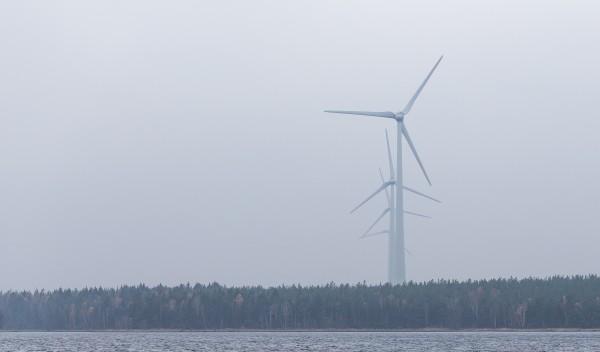 Tuulivoiman teho vaihtelee
