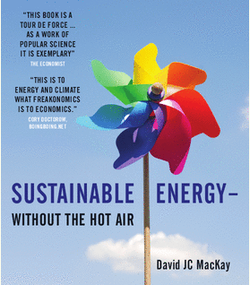 Sustainable Energy Without hot air
